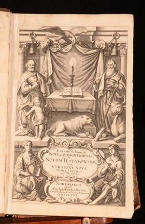 Erasmi Schmidii Opus sacrum posthumum; in quo: Erasmus Schmidt