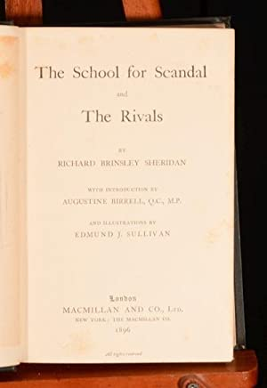 The School for Scandal: N/a