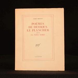 Andre Frenaud Poemes De Dessous Le Plancher Suivis De La