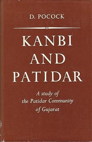 Kanbi and Patidar: A study of the: Pocock, D.
