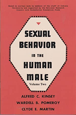 Sexual Behavior in the Human Male, volume: Kinsey, Alfred C: