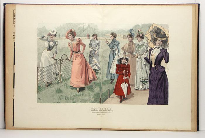 Der Bazar. Illustrirte Damen-Zeitung. Jahrgang 43 (Nr.: k.A.