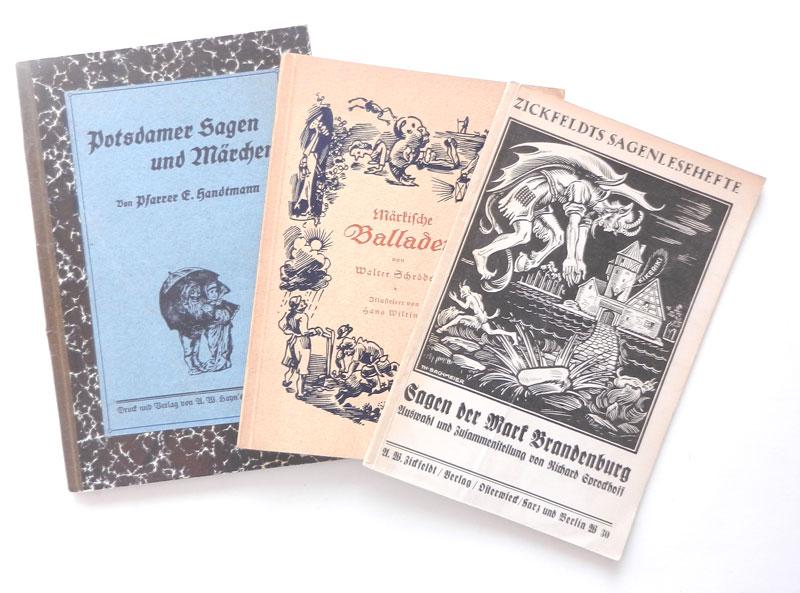 Potsdamer Sagen und Märchen. - Handtmann, Eduard