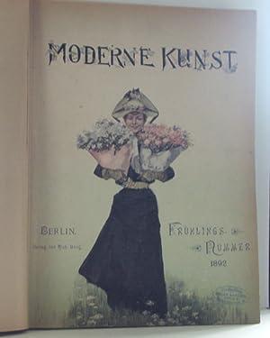 Moderne Kunst. Illustrierte Zeitschrift mit Kunstbeilagen. Bd.: k.A.