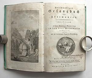 Vollständiges Gesangbuch für Freimaurer. Zum Gebrauch der: Maurer, Friedrich, Hrsg.)