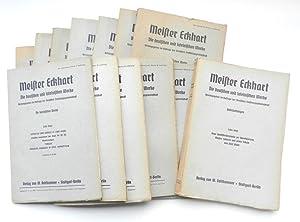 Die deutschen und lateinischen Werke. Herausgegeben im: Eckhart, Meister