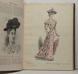 Myra s Journal of Dress Fashion & Needlework. Vol. XVII, Nr. 1 - 12 and vol. XVIII, Nr. 1 - 12....