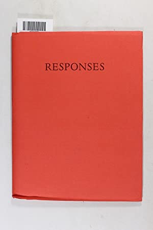 Responses (Collected Poems Specially Commissioned for the: Heaney, Seamus, et.