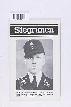 SIEGRUNEN # 52 ( Vol. IX, No.: Landwehr, Richard