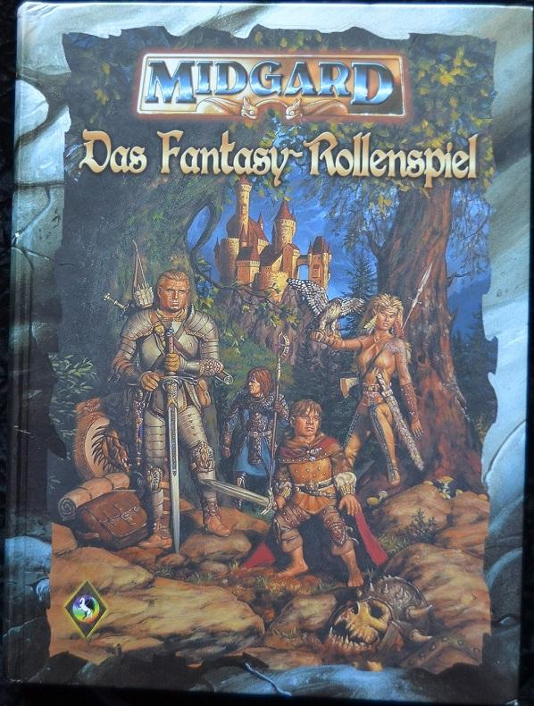 Midgard: Das Fantasy-Rollenspiel - Grundregelwerk - Franke, Jürgen E.