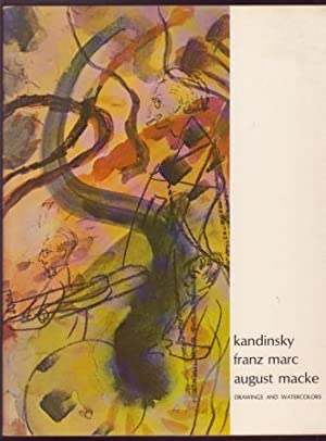 kandinsky, franz marc, august macke: Drawings and