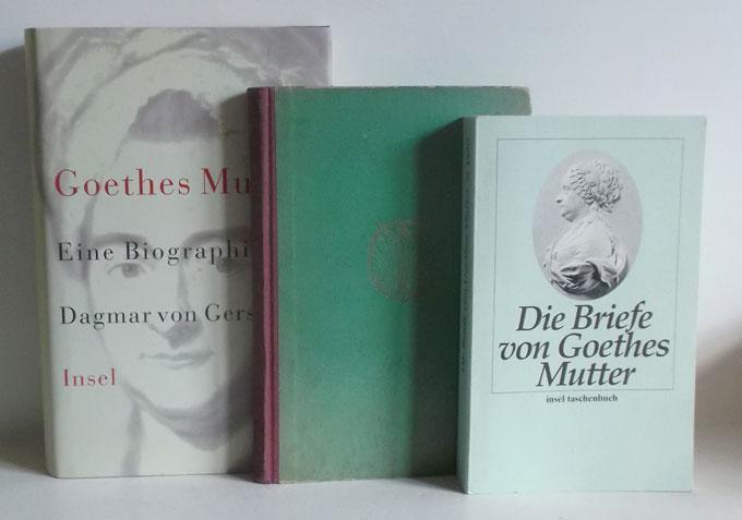 1. Muthesius, Karl: Goethe und seine Mutter: Goethe und seine