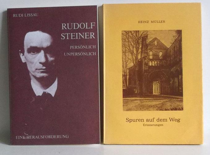 1. Lissau, Rudi: Rudolf Steiner - persönlich,: Über Rudolf Steiner