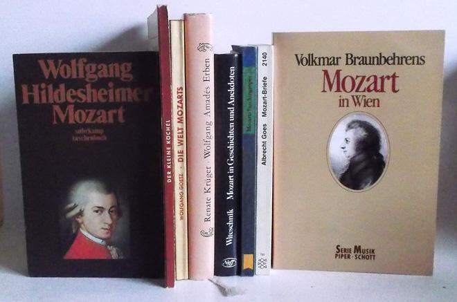 1. Hildesheimer, W.: Mozart -(st 598) /: Mozart - 9