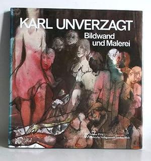 Karl Unverzagt. Bildwand und Malerei.: Faschon, Susanne u.a.: