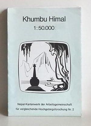 Khumbu Himal - 1:50.000 - (Nepal Kartenwerk