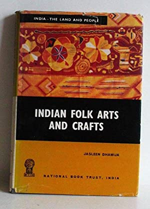 Indian Folk Arts and Crafts - (India-The: Dhamija, J.: