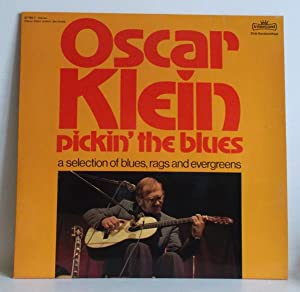 Oscar Klein ? Pickin' the blues. A selction of blues, rags and evergreens.