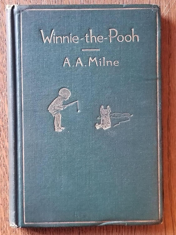 Winnie_the_Pooh_MILNE_AA_Very_Good_Hardcover