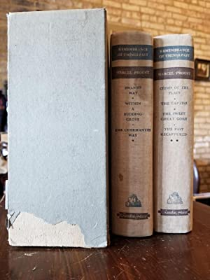 Remembrance of Things Past (set of 2): Proust, Marcel