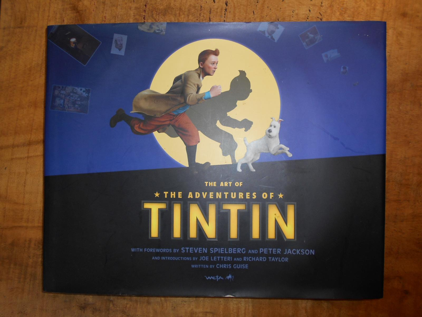 THE ART OF THE ADVENTURES OF TINTIN: GUISE, ...