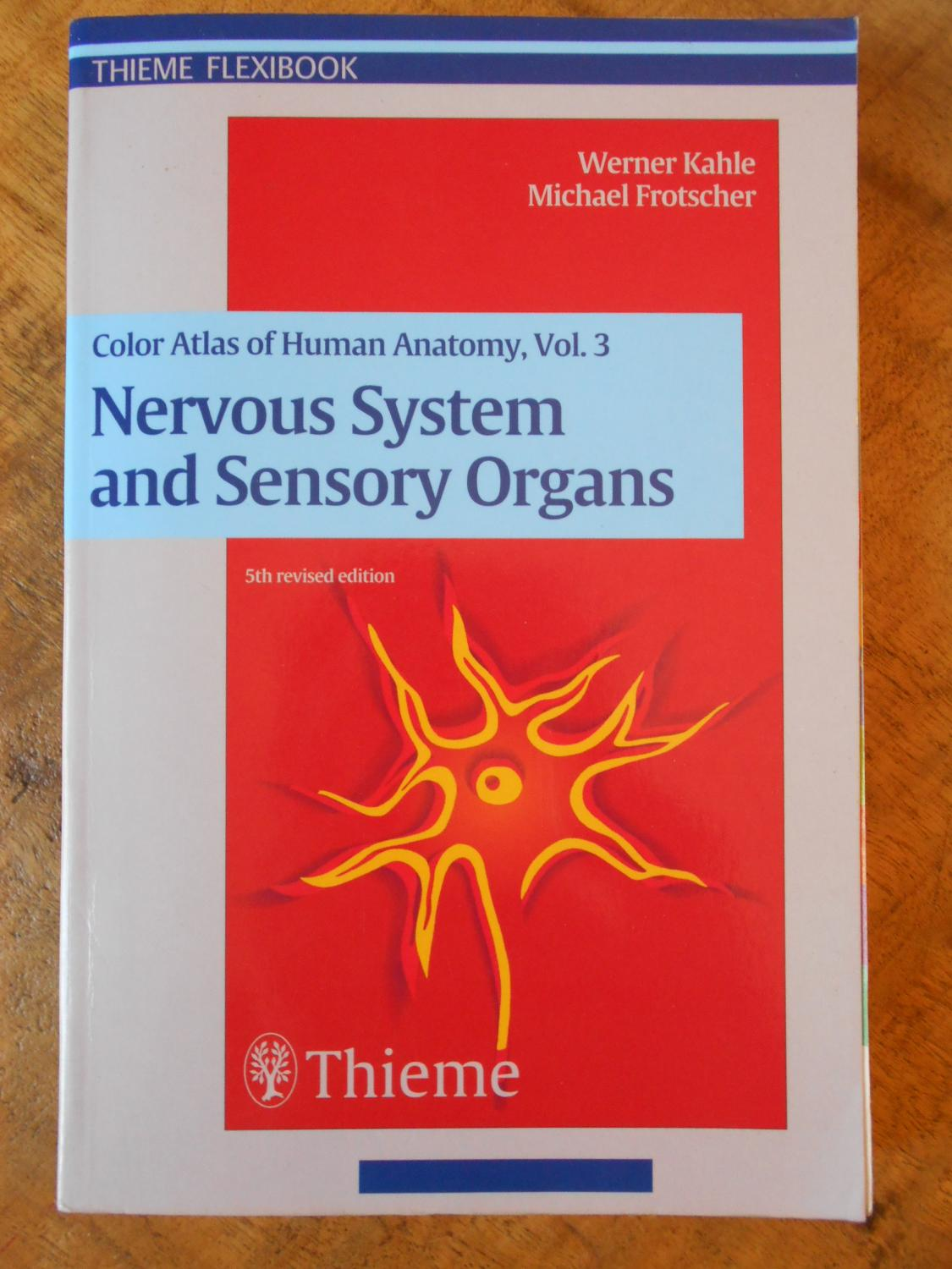 Color Atlas Of Human Anatomy Nervous System And Sensory Organs Vol