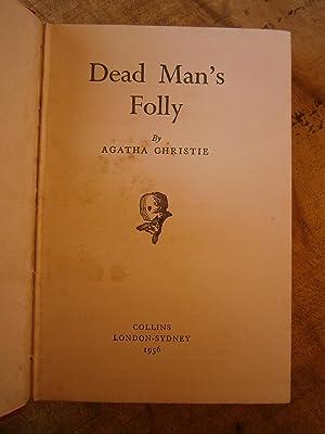 DEAD MAN'S FOLLY: CHRISTIE, AGATHA