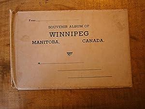 SOUVENIR VIEWS OF WINNIPEG, MANITOBA, CANADA: A DOMINION SERIES