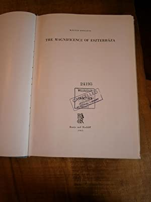 THE MAGNIFICENCE OF ESZTERHAZA: HORANYI, Matyas