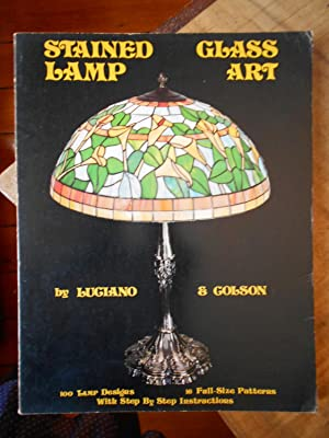 STAINED GLASS LAMP ART