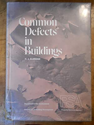 THE COMMON DEFECTS OF BUILDINGS: Department of the Environment