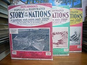 HUTCHINSON'S STORY OF THE NATIONS VOL.I-III: ED: HUTCHINSON, WALTER