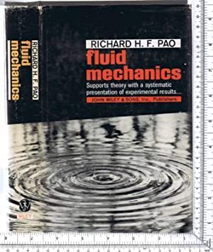 Fluid Mechanics: Pao, Richard H