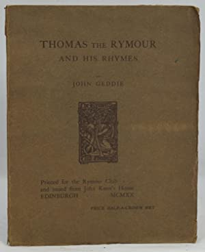 Thomas the Rymour and His Rhymes