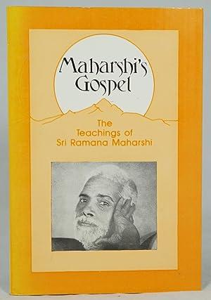 Maharshi's Gospel: Books I & II, Being: Maharshi, Bhagavan Sri