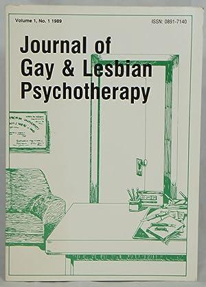 Journal of Gay & Lesbian Psychotherapy, Volume: Scasta, David Lynn