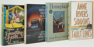Heartbreak Hotel, The House Next Door, Homeplace, [and] Fault Lines [Four Signed Books by Anne Ri...