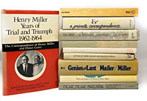 Ten Books About Henry Miller: Dear, Dear Brenda: The Love Letters of Henry Miller to Brenda Venus...