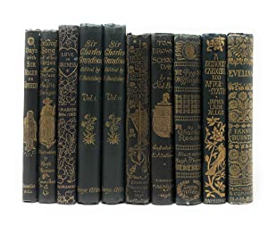 [Decorative 10 volume illustrated publisher's bindings shelf lot] Days with Sir Roger Coverley; C...