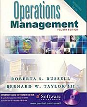 Operations Management International Edition (4the Edition): Bernard Taylor Roberta