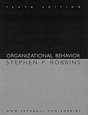 Organizational Behavior (10th Edition): Stephen P. Robbins