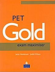 PET Gold Exam Maximiser: Judith Wilson Jacky