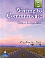 Writing to Communicate 2: Jia Frydenberg Cynthia