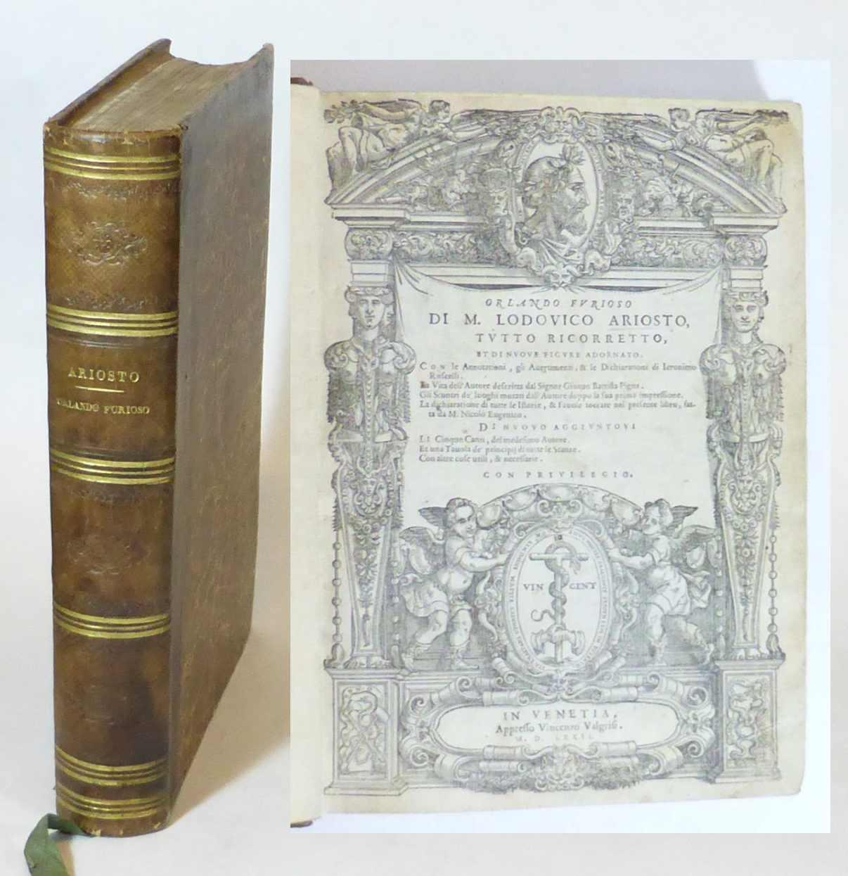 orl ando furioso volume ii cantos 25 46 ariosto ludovico