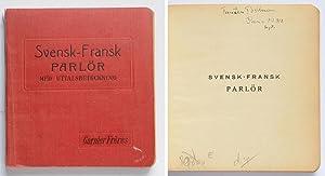 Svensk-fransk parlör med uttalsbeteckning.: Lombard, Alf
