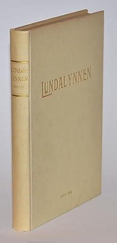 Lundalynnen II. Studier i akademisk fysiognomik. Med: Lundalynnen]