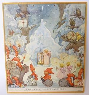 Barnens adventskalender (för 1941). Utgiven av Treklövern. Offic. org. För Sveriges ...