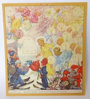 Barnens adventskalender (för 1946). Utgives av Sveriges Flickors Scoutförbund.: ...
