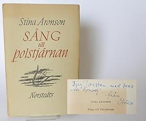 Sång till Polstjärnan. Noveller.: Aronson, Stina