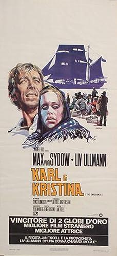 Karl e Kristina. (The Emigrants). Italian Film: Moberg, Vilhelm /